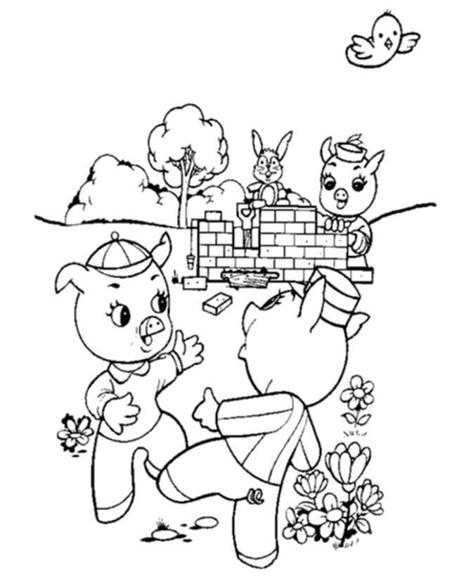 mercy watson coloring pages - photo#29