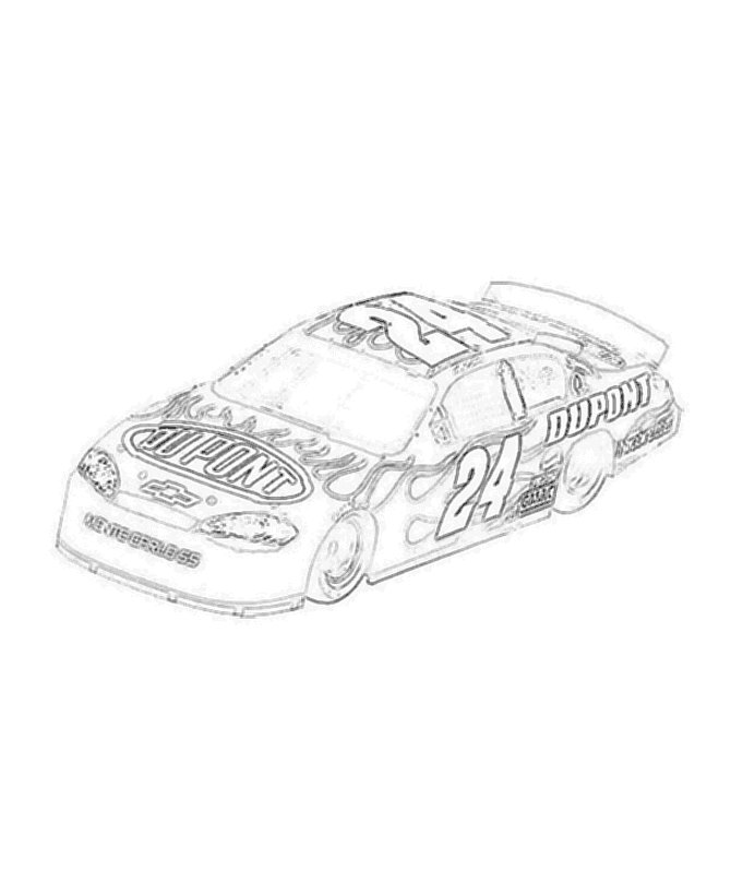 dale earnhardt junior coloring pages - photo#27